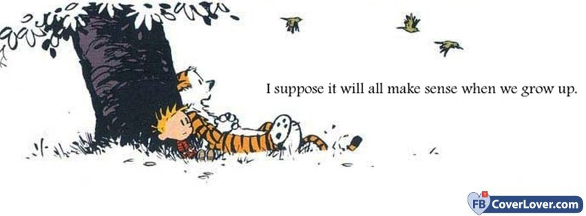 Calvin And Hobbes  Funny And Cool Facebook Cover Maker Fbcoverlover Com