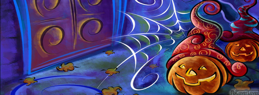 Artistic Pumpkins Decorations Facebook Covers More Holidays Covers for Timeline