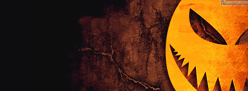 Scary Halloween Pumpkin Facebook Covers More Holidays Covers for Timeline