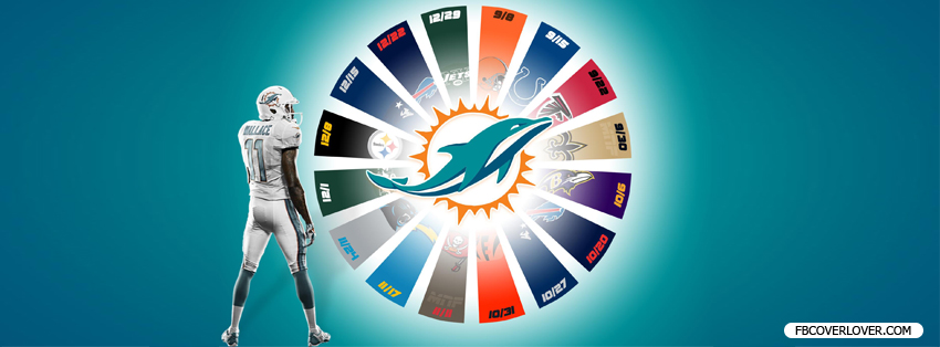 Miami Dolphins 2013 3 Facebook Covers More football Covers for Timeline