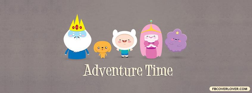 Adventure Time Characters 3 Facebook Covers More Cartoons Covers for Timeline