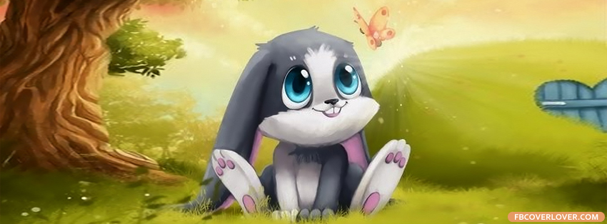 Cutest Bunny Ever Facebook Covers More Animals Covers for Timeline