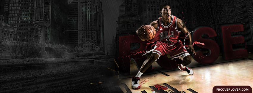 Derrick Rose 2 Facebook Covers More Basketball Covers for Timeline