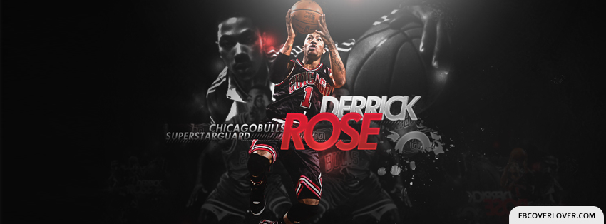 Derrick Rose 4 Facebook Covers More Basketball Covers for Timeline