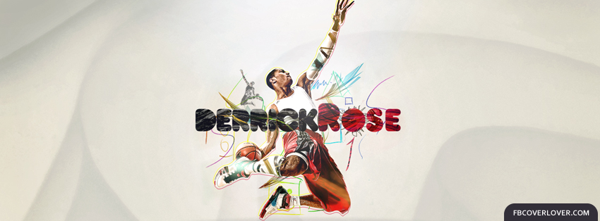 Derrick Rose 5 Facebook Covers More Basketball Covers for Timeline