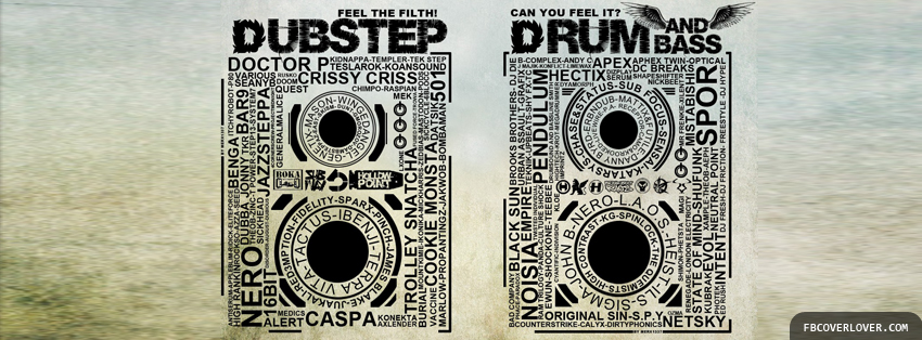 Dubstep Drum Facebook Timeline  Profile Covers