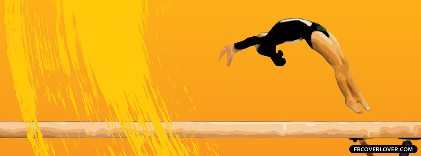 Gymnastics 2 Facebook Covers More Summer_Sports Covers for Timeline