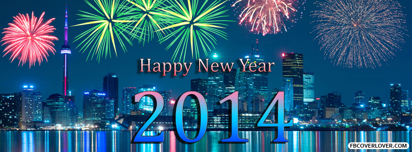 Happy New Year 2014 5 Facebook Covers More Holidays Covers for Timeline