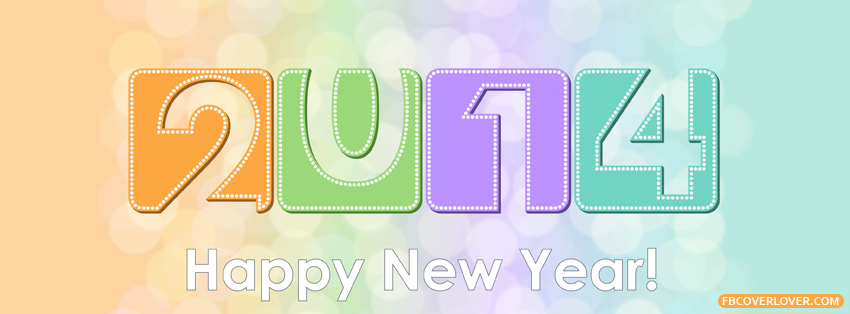 Happy New Year 2014 7 Facebook Covers More Holidays Covers for Timeline
