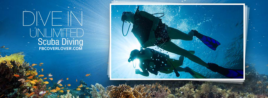 Scuba Diving 2 Facebook Covers More Summer_Sports Covers for Timeline