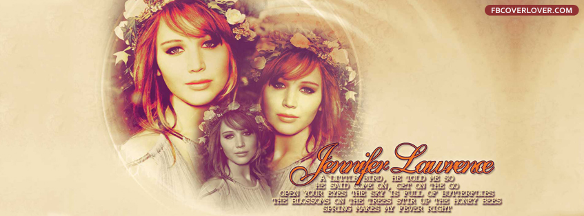 Jennifer Lawrence 2 Facebook Timeline  Profile Covers