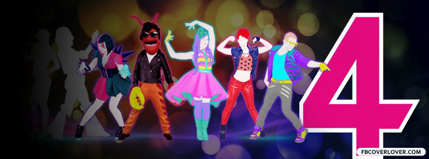 Just Dance 4 2 Facebook Covers More Video_Games Covers for Timeline