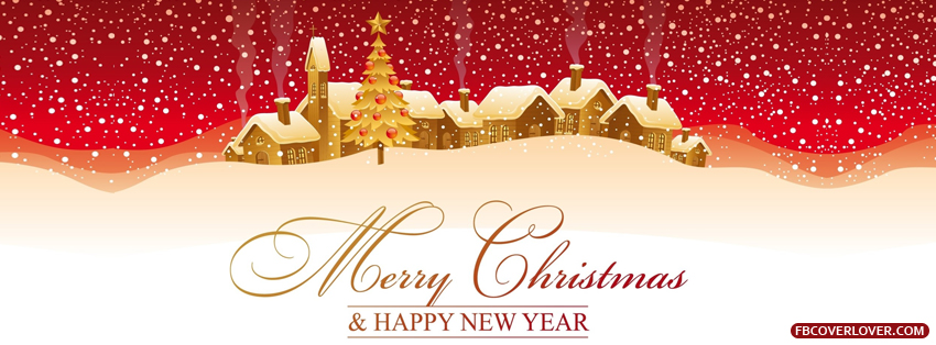 Merry Christmas And Happy New Year 2 Facebook Covers More Holidays Covers for Timeline