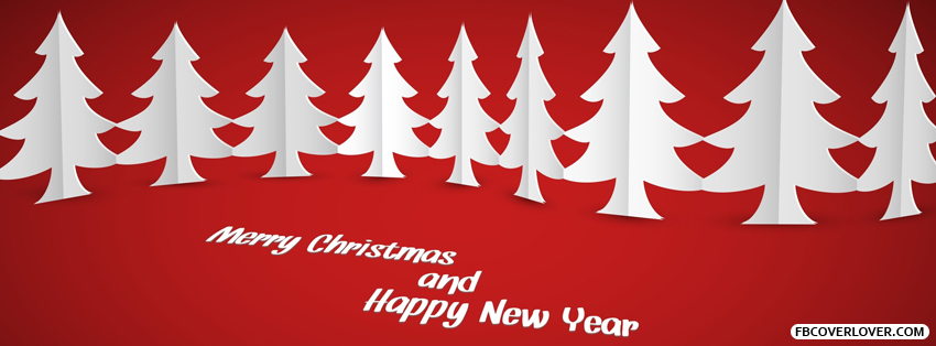 Merry Christmas And Happy New Year Facebook Covers More Holidays Covers for Timeline