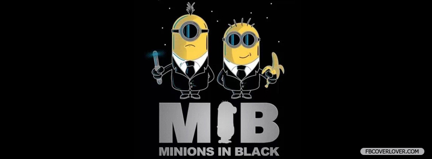 Minions In Black Facebook Covers More funny Covers for Timeline