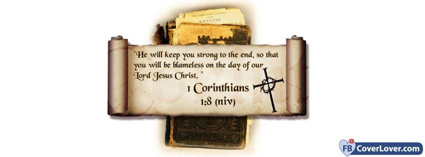 1 Corinthians 1 8