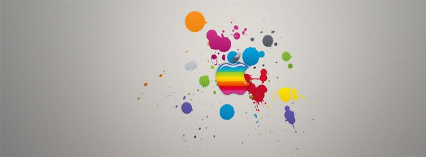 Abstract Artistic Apple