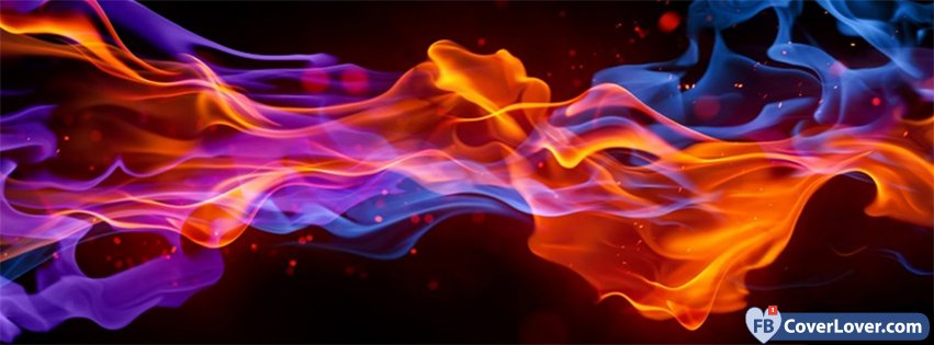 Abstract Artistic Fire