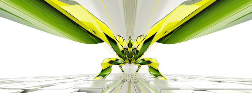 Abstract Artistic Insect