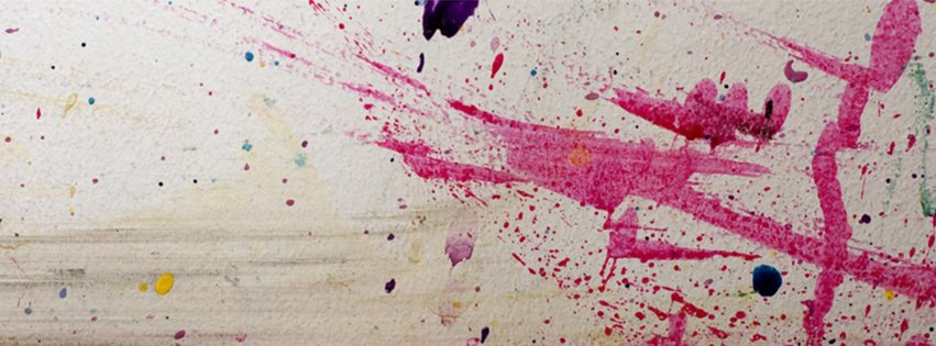 Abstract Artistic Pink Painting