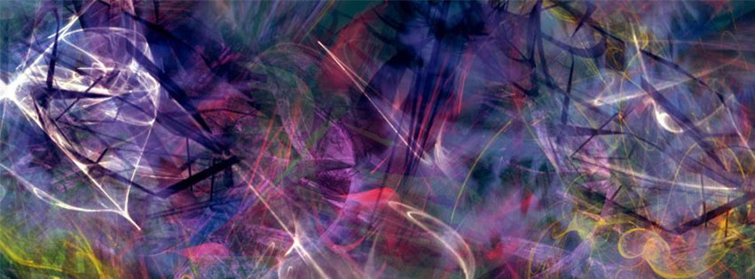 Abstract Artistic Purple