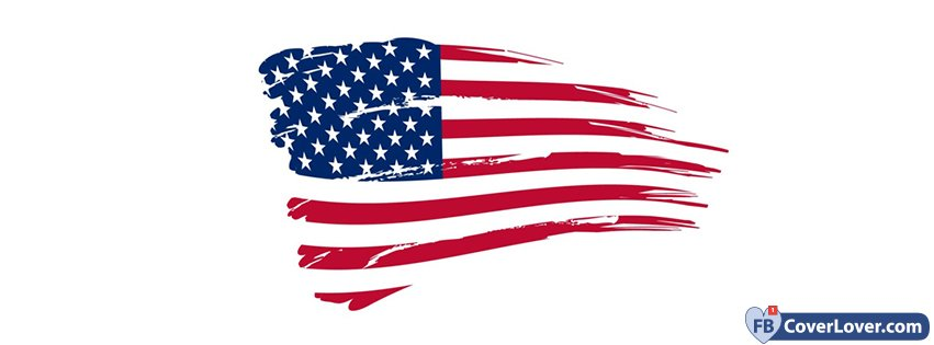 dfed4c6b1f58 American Flag Holidays And Celebrations Facebook Cover