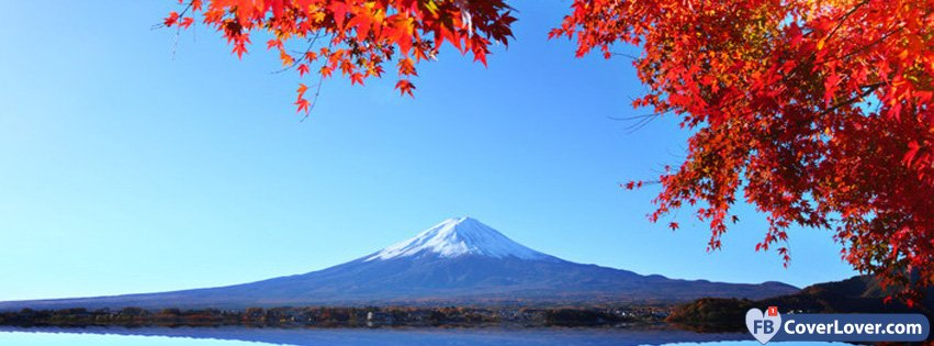 Autumn Mount Fuji 1