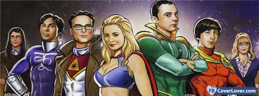 Big Band Theory Super Heroes