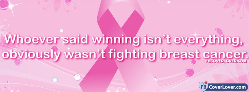 Breast Cancer Awareness Awareness And Causes Facebook Cover Maker