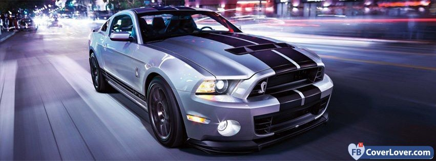 Grey Mustang Shelby