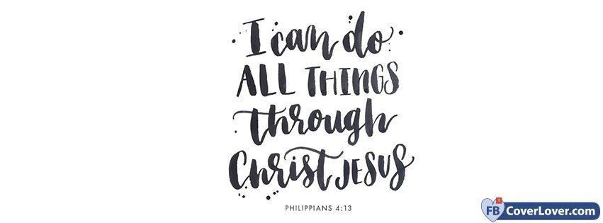 Christ And Jesus Philippians 4 13