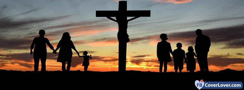 christian family religion christian facebook cover