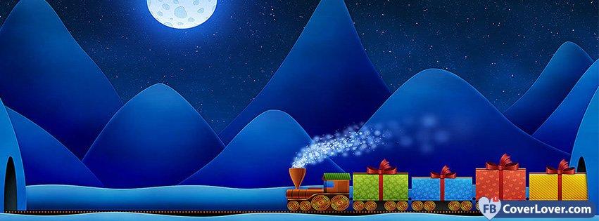 christmas gifts train