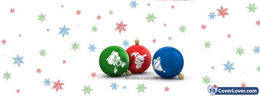 Christmas Ornaments Red Blue Green