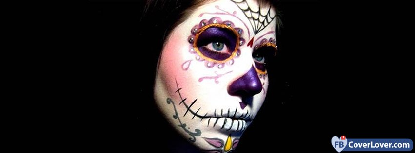 Day Of The Dead Costume Girl