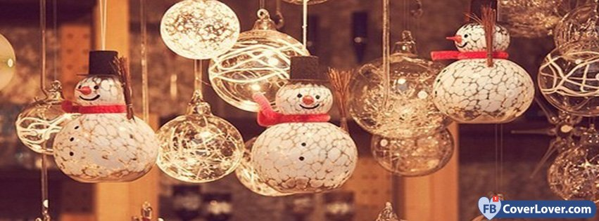 December Christmas Snowmen Decoration