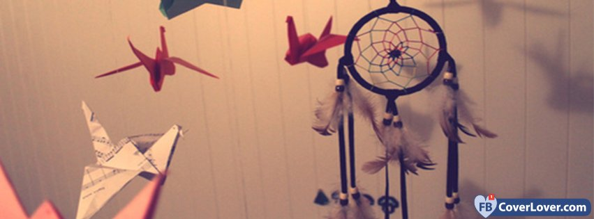 Dreamcatcher And Paper Brids
