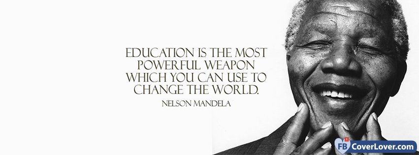 education is the most powerful weapon nelson mandela quotes and