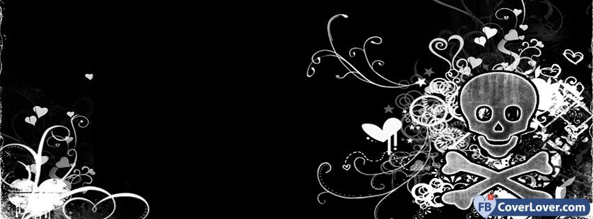 Emo Background Emo Goth Facebook Cover Maker Fbcoverlover Com