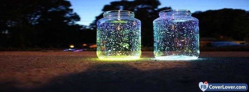 Fashion Glowing Jars Lighthers