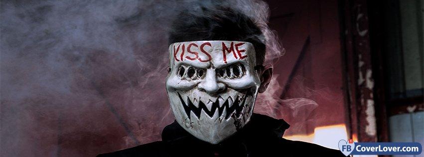 Halloween Kiss Me Mask