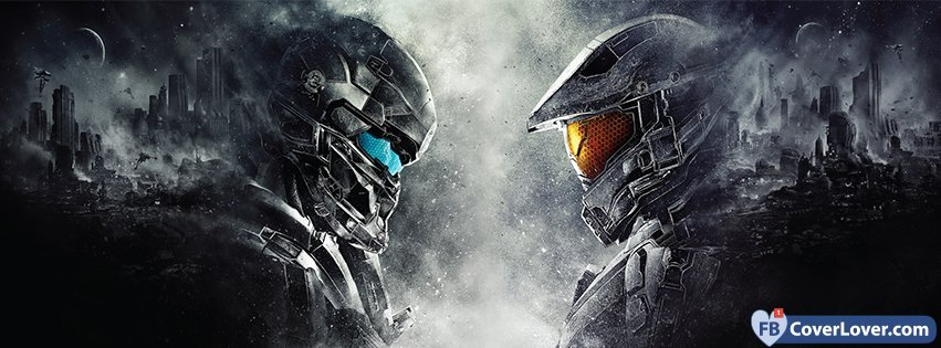 Halo 2 Gaming Video Games Facebook Cover Maker