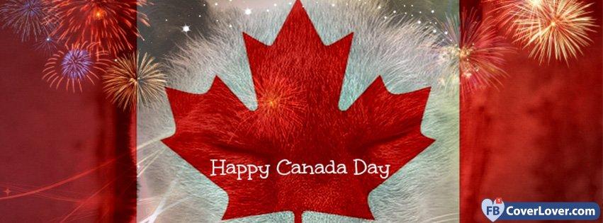 Happy Canada Day Fireworks