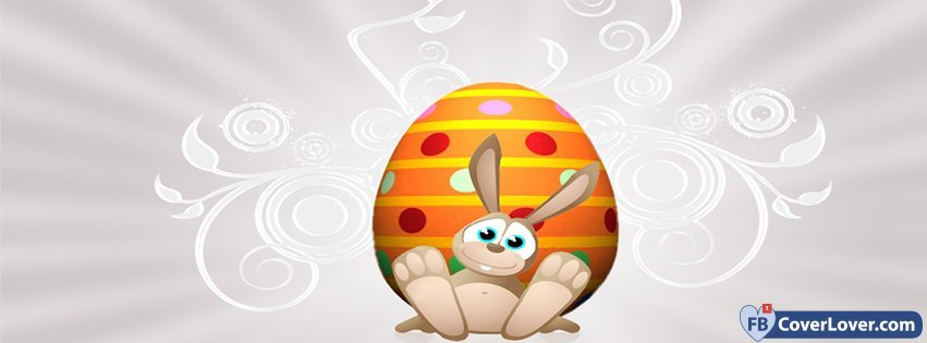 Happy Easters Funny Bunny