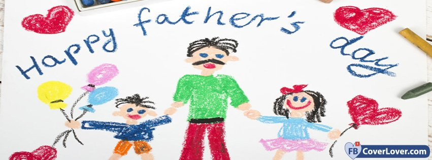 Happy Fathers Day Drawing