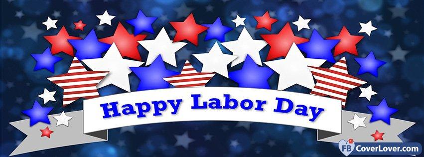 Happy Labor Day Stars