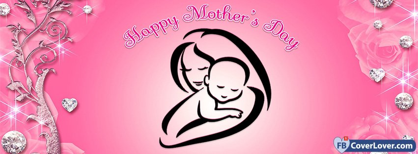 Happy Mothers Day Baby And Mother