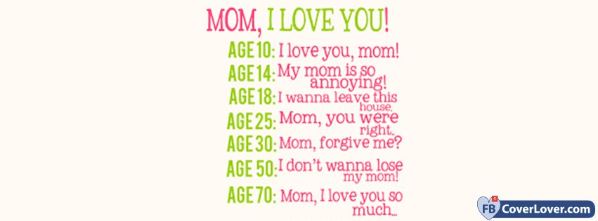 Happy Mothers Day Mom I Love You