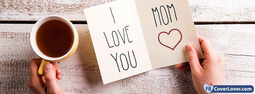 Happy Mothers I Love You Card