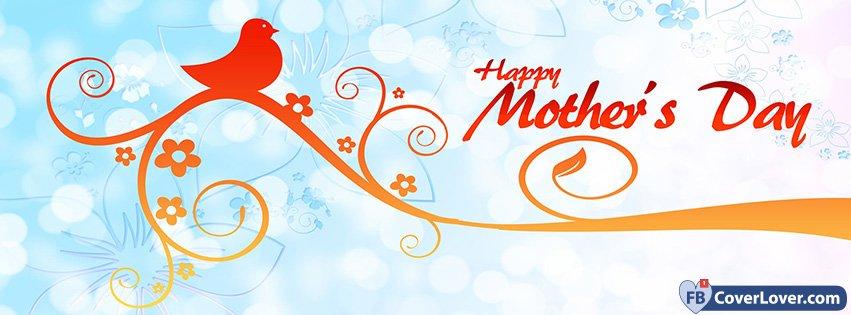 Happy Mothers Day Bird Tree